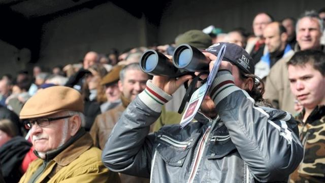 Turfiste sur un hippodrome suivant une course pmu avec ses jumelles, son pronostic est-il le meilleur ?